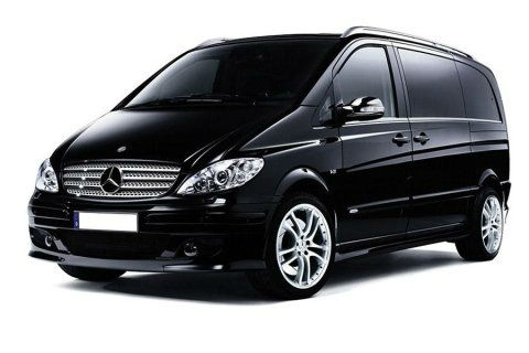 mercedes vito for car hiring with driver