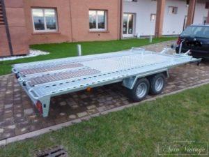 carrello trasporto auto senza carico